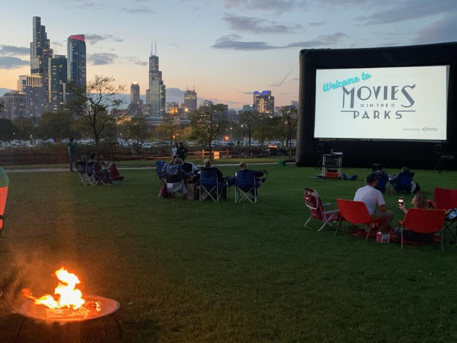 Movies in the Park at Northerly Island