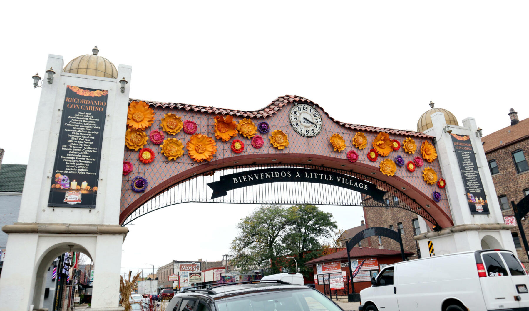 Little Village arch